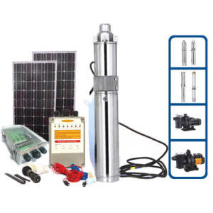 Quality DC Solar Water Pump Made in China (5 Years Warranty)