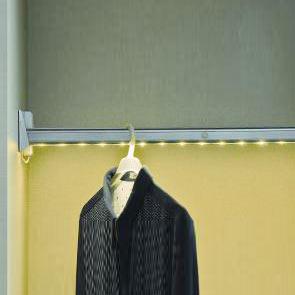 Cabinet Sensor LED Light Cloth Hanger