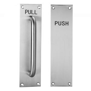 Jiangmen Door Hardware Stainless Steel Door Handles on Plated