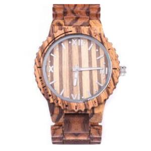 Fashion Wrist Watch Wooden Watch Men's Women's Quartz Watch