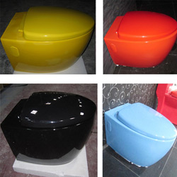 Ceramic Wall-Hung Toilet Bowl Color Hanging Toilet (A-502)