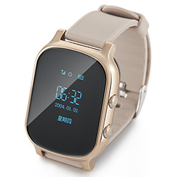 500mAh Fashion GPS Positioning Watches GPS Smart Watch