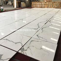 Beige Black White Marble Slab for Project Decoration