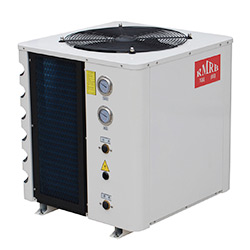 Air Source Heat Pump Water Heater with Solar Energy