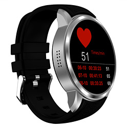 Android Smart Watch Mobile Phone with 3G WiFi Heart Rate