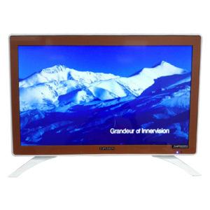 "32"" Slim Eled TV with Tempered Glass Apple Design"