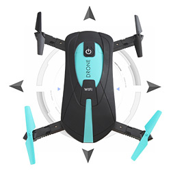 Jy018 Foldable WiFi Control 2.0 Mega Camera RC Drone Quadcopter