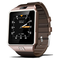 Android 4.4 Mtk6572 Dual-Core Smart Watch Mobile Phone