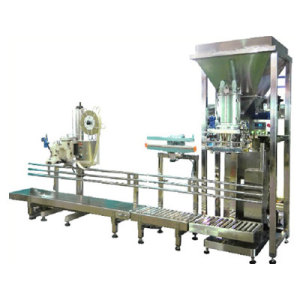 Camphor Powder Packing Machine with Conveyor Belt