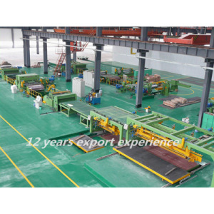 CL-25X2200 Automatic Metal Coil Cut to Length Machine Line