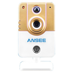 Alarm Cube IP Camera with PIR Motion Detector