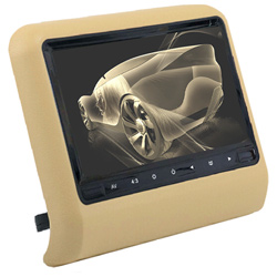 Full 10.1 Inch HD LED Screen Portable Car Headrest DVD Monitor Car DVD Player with 800*480 Resolution