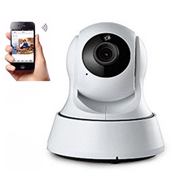 Indoor WiFi IP Camera with PT Pan Tilt for Home Security/Baby Monitor