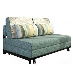 Fabric Sofa Bed Steel Frame Sofa Bed (192*80cm)