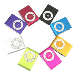 OEM Logo Fashion Colorful MP3 Player for Promotional Gift
