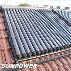 Heat Pipe Solar Collector with CE Certificate