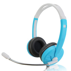 Hz-419 Good Selling Wholesale Computer Stereo Headset with Microphone