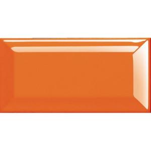 """3X6""""Orange Bevelled Ceramic Glazed Subway Wall Tile"""