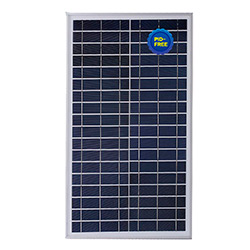 Solar Panel Poly 30W for Street Light, off-Grid System with Good Quality