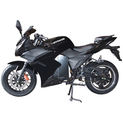 2017 New Street Racing Sports Electric Motorcycle with Pedals Scooter