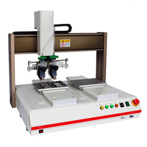 3 Axis Stepping Motor Liquid Automatic Dispensing Robots with Double Heads