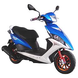 50cc/100cc/125cc EEC High Speed Alloy Wheel Gas Motor Scooter (SL100T-A1)