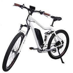 """27.5"""" Full Suspension Lithium Battery Electric Mountain Bicycle"""