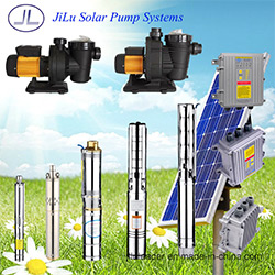 180W-3000W Solar Stainless Steel Submersible Pump System, Swimming Pool Pump