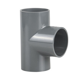 PVC Plastic Pipe Tee with High Pressure Fittings