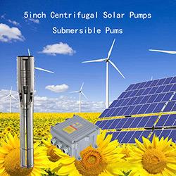 5in Centrifugal DC Solar Submersibel Pump 5SSC25/25-D72/1000