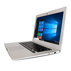14 Inch Widescreen Laptop with Two Color White and Black