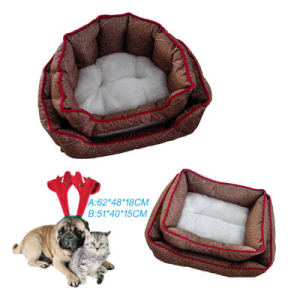 High Quaulity and Comfort Coral Velvet Dog Beds (WY161038A/B)
