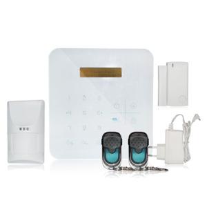 433/868MHz WiFi & GSM Smart Burglar Alarm System with APP Control