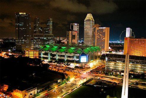 Suntec Singapore International Convention and Exhibition Centre