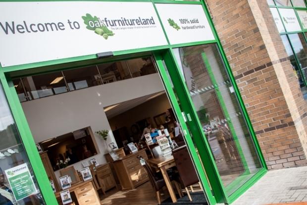 Oak Furniture Land Shortlisted for Retail Award