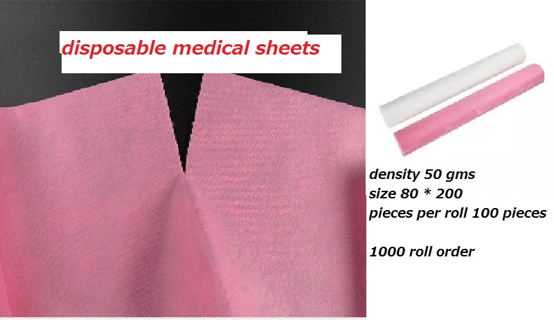 Disposable Medical Sheets Roll