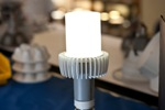 A Concept LED Retrofit Lamp Developed by Cree's R&D Team Achieves Efficacy of 170 Lm/W