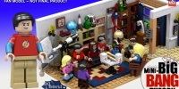 Official LEGO Big Bang Theory Set Has Successfully Passed The LEGO Ideas Review Stage
