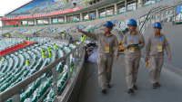 SGCC Successfully Provided Electricity for The Opening Ceremony of National Youth Games
