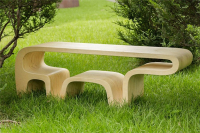 Simple Lovely Bear Table Design