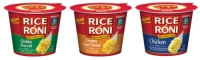 Rice-a-Roni Has Launched Single-Serve, Microwavable, Flavored Rice Cups