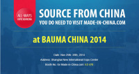 Visit Made-in-China.com at Bauma China 2014