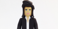 Nick Cave Action Figures Dressed in Outfits Inspired by Post-Punk Icon's Hit Songs