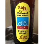 New Belgium Brewing Is Paying Homage to National Bike Month in May with Special Labels