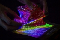 Imec Turns Clothing Into Colorful LED Displays