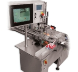 The RE200 Vial Labeler Handles Unstable Containers at Speeds up to 200 Bottles Per Minute