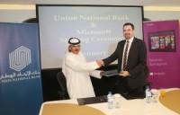 Microsoft Gulf and Union National Bank Announced a Partnership