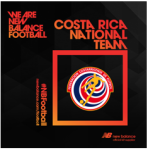 New Balance Football Reports Sponsorship of Costa Rican Football Federation