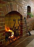Brick Fire Place Can Enhance The Look of Your House by Giving It a Classic Vintage Look