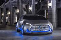 Mercedes Unveils Vision Tokyo Self Driving Car